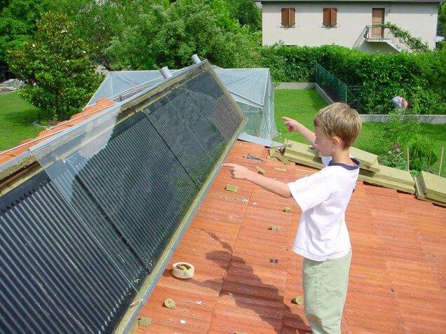 crédit d'impôt Chauffe-eau solaire