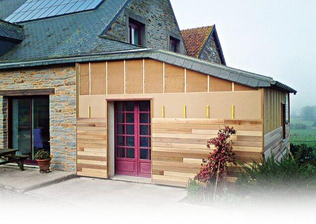 Isolation des murs par l ext rieur cr dit d 39 imp t for Isolation garage credit impot